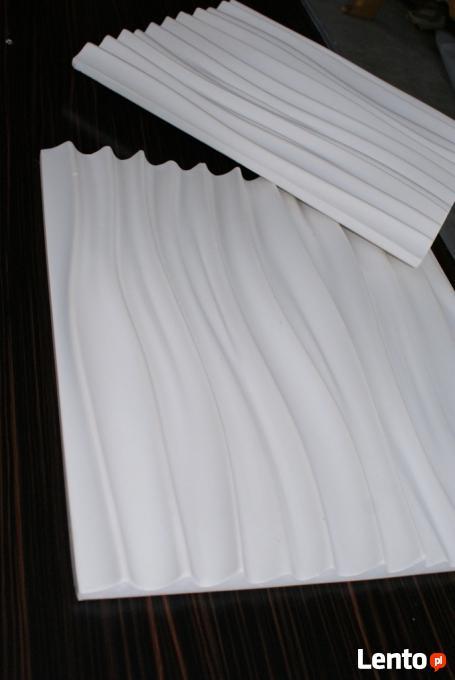 Panele ścienne 3d Dekoracyjne Ozdobne Gipsowe Producent