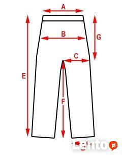 d9fddc21f6 Damskie spodnie na gumce jeans XS   S - wysyłka 10zł Bogatynia