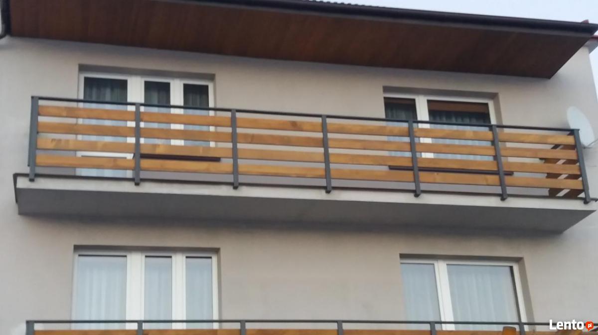 Zaktualizowano Ogrodzenia balustrady z kompozytu tarasy modrzew syberyjski Warszawa BK48
