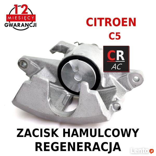 Unikalne Zacisk hamulcowy przód CITROEN C5 GW12m REGENERACJA Gliwice NT39