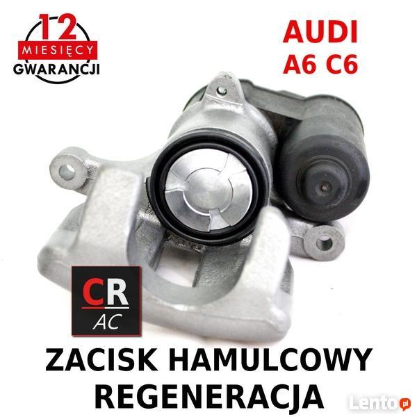 Modne ubrania Zacisk hamulcowy tył elektryczny Audi A6 C6 Regeneracja Gliwice CL35