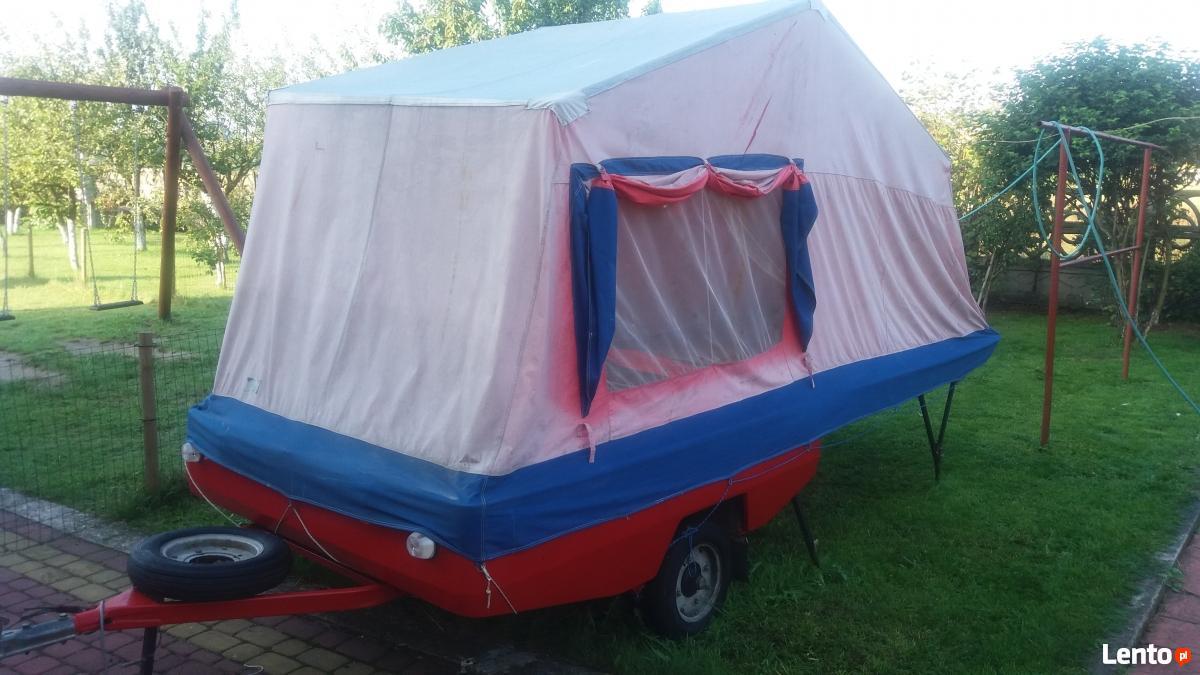 Ogromny Przyczepka namiotowa Skif CCCP Włoszczowa JW44
