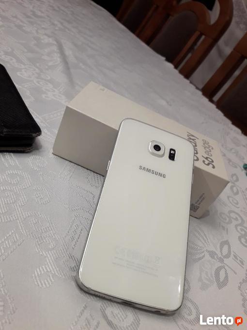 Bardzo dobryFantastyczny Archiwalne Sprzedam, telefon samsung Galaxy s6 edge bialy Białystok KX63