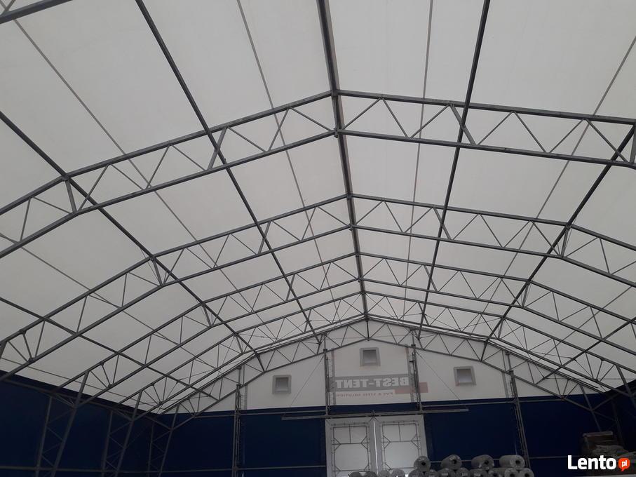 W superbly Używana hala namiotowa stalowa 20m x 24m x 4,5m OKAZJA! Władysławów LL42