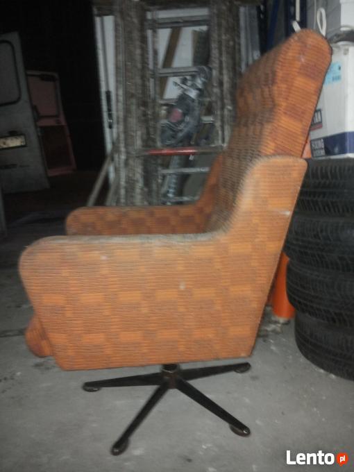 Fotel Klubowy Prl Loft Meble Prlvintage Fotel Obrotowy Zabrze