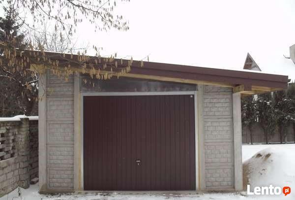 Garaże Hale Budynki Gospodarcze Wiaty Z Płyt Beton