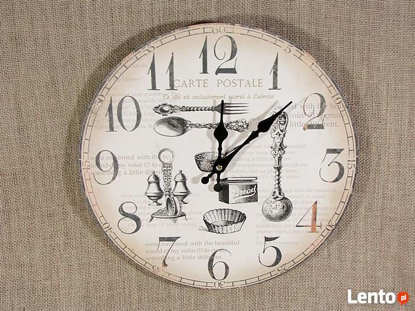 Archiwalne Zegar ścienny Do Kuchni Jadalni Salonu W Stylu