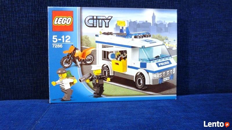 Lego City Konwój Prisioner Transport 7286 łódź
