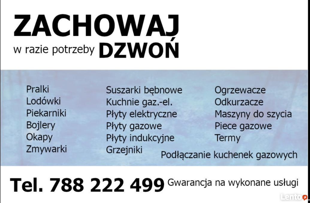 Serwis Agd Naprawa Pralek Lodówek Piekarnikow Piecy Zmywarek