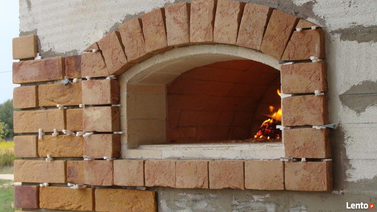 Rewelacyjny piec opalany drewnem zdun piec chlebowy do pizzy zduństwo Warszawa RX87