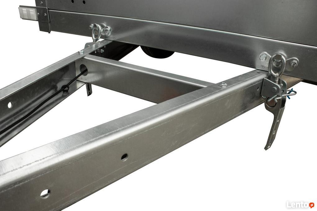 Dodatkowe Garden Trailer 200 Przyczepa samochodowa - plandeka i stelaż Świdnik CG95