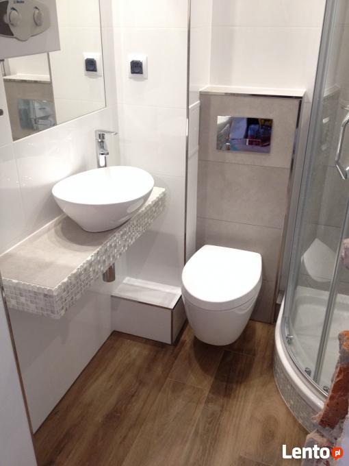 Remont łazienki W Bielsku Glazurnik Kafelkowanie Hydraulik