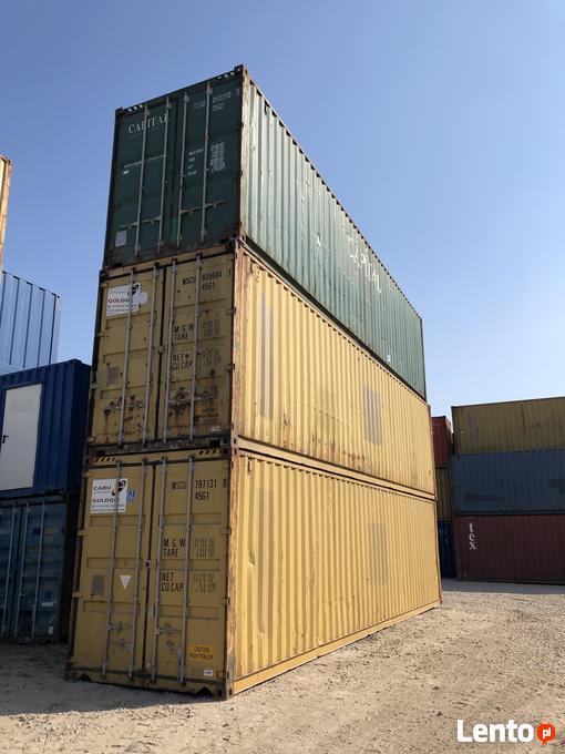 Unikalne Kontener morski 40HC, używany, kontenery magazynowe 12m Gdańsk VE12