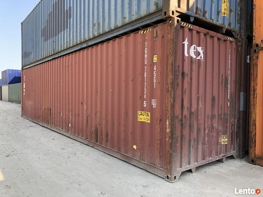 Topnotch Kontener morski 40HC, używany, kontenery magazynowe 12m Gdańsk SC17