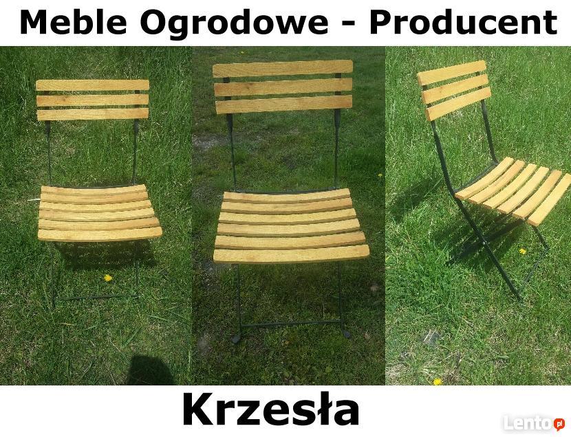 Archiwalne Meble ogrodowe, krzesła, altana, ławki, krzesło