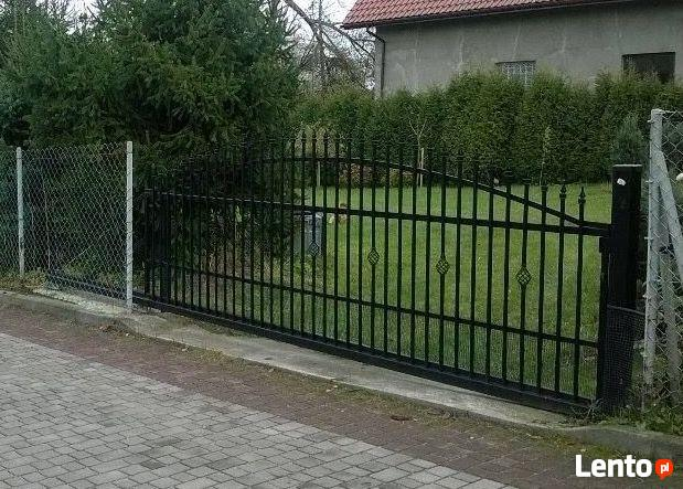 Brama Przesuwna Kuta Prowadnica 80x80mm 4mb Garwolin