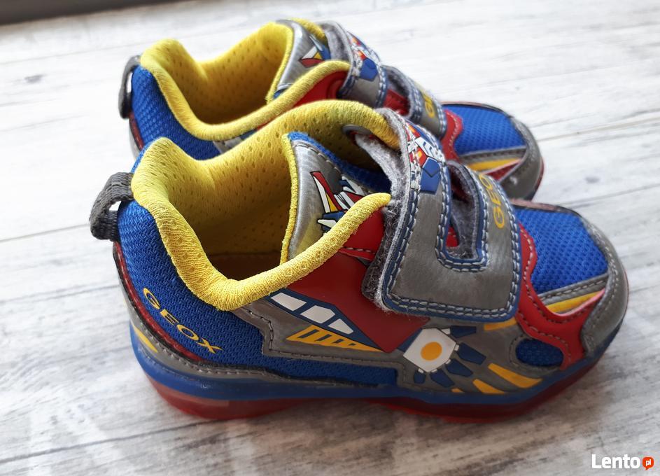 c417c2bf ... Świecące buty sportowe GEOX rozmiar 22 dla chłopca - 3 ...