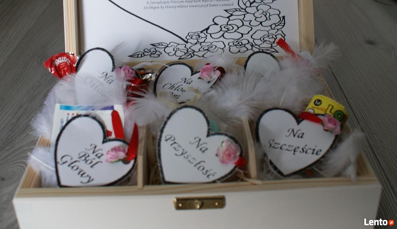 Archiwalne Niezbędnik Małżeński Pudełko Prezent ślub
