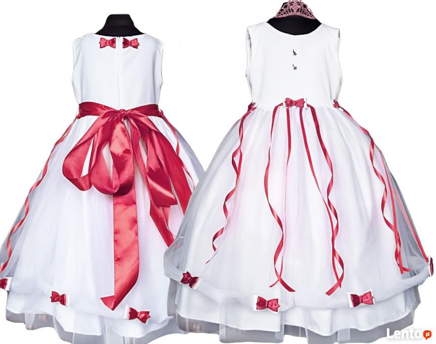 1a96332298 ... Tiulowa sukienka dla dziewczynki- kokardki rozmiary 56-164 - 6 ...