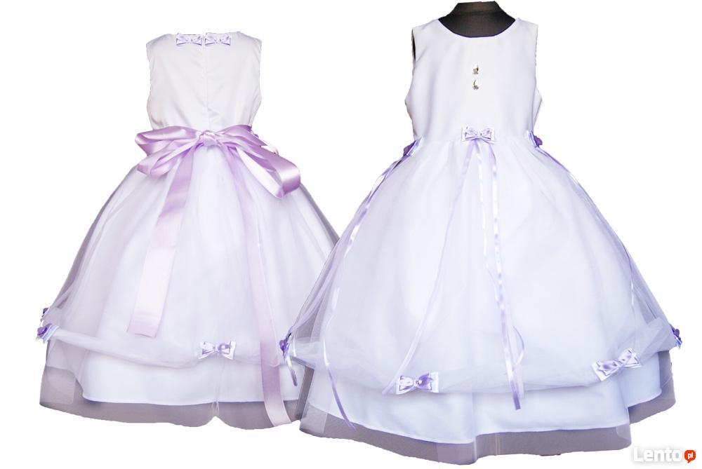 d59b062a1f ... Tiulowa sukienka dla dziewczynki- kokardki rozmiary 56-164 - 4 ...