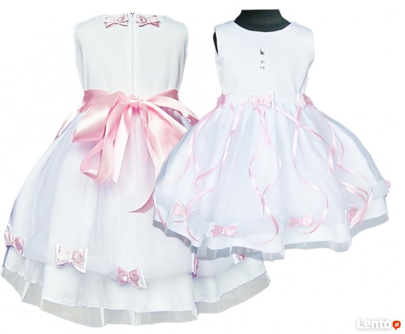 9988b99a81 ... Tiulowa sukienka dla dziewczynki- kokardki rozmiary 56-164 - 5 ...