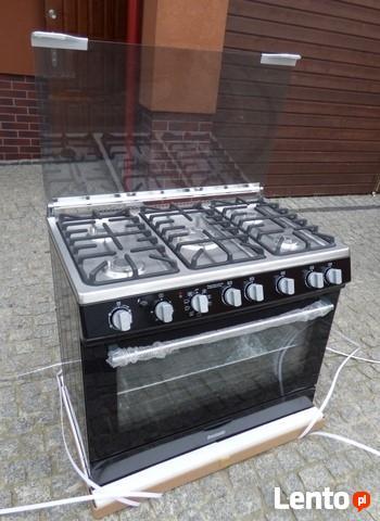 Archiwalne Kuchnia Gazowa Elektryczna 90 Cm 5 Palników
