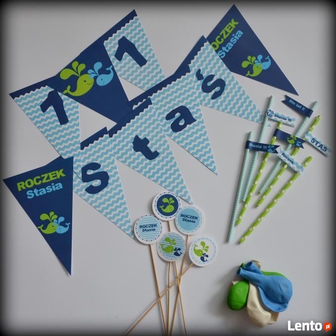 Dekoracje Urodzinowe Personalizowane Urodziny Roczek Chrzest Szczecin