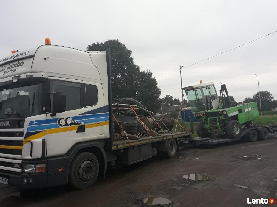 Ogromnie Pomoc Drogowa Transport Maszyn Rolniczych i Budowlanych Sępólno UI13