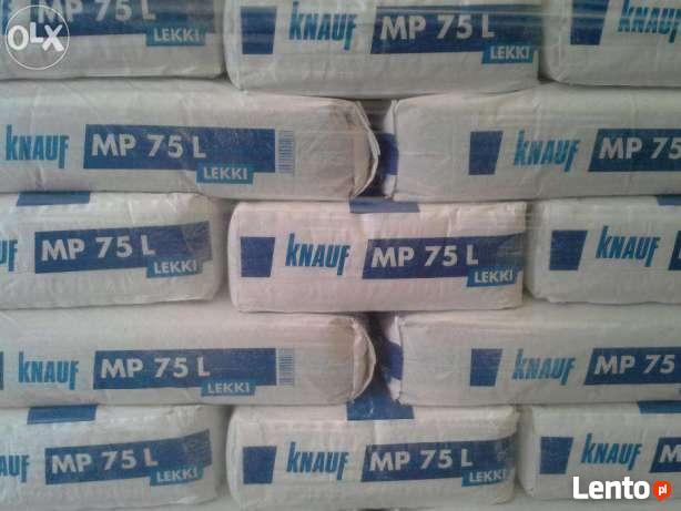 Gipsowy Tynk Maszynowy Knauf Mp 75 30kg Lekki Wloszczowa