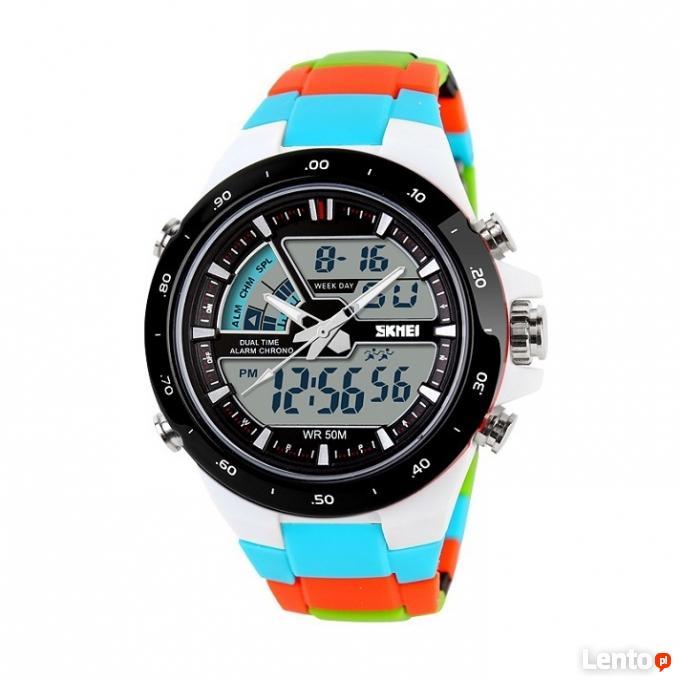 352540f1f44591 ... Zegarek na bransolecie z tworzywa super kolory wodoszczelny - 5 ...