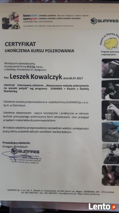 Archiwalne Ślusarz narzedziowy, spawacz mig Bydgoszcz