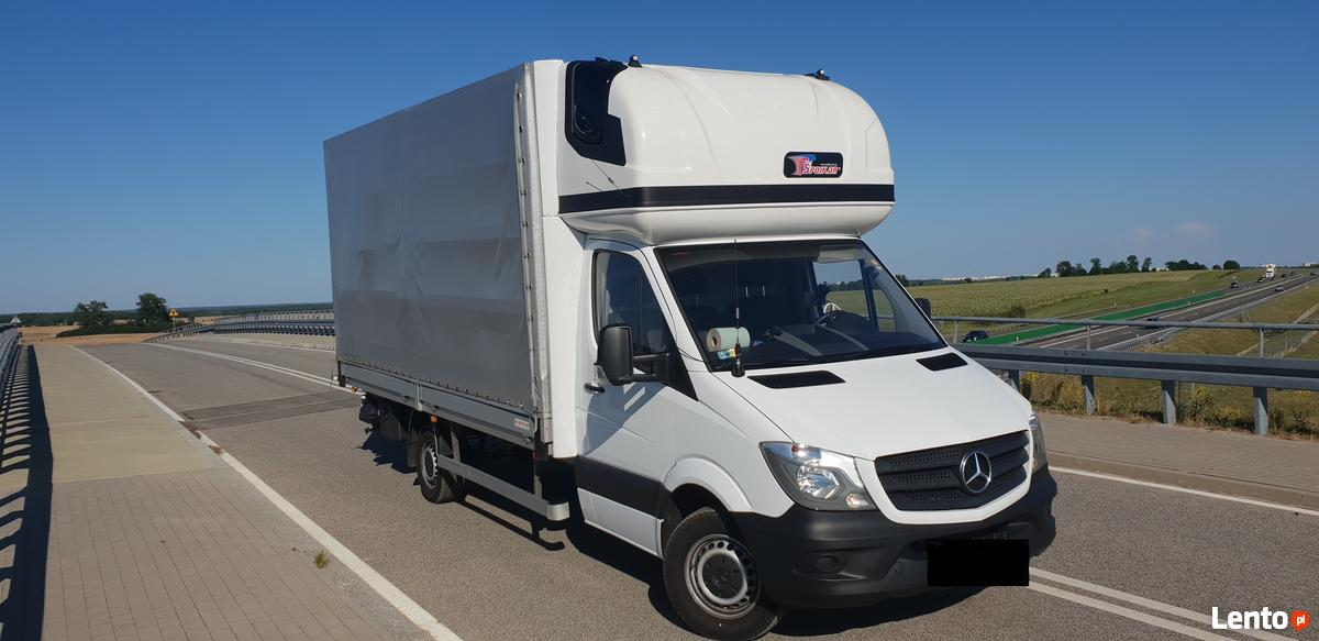 Bardzo dobra Archiwalne Wynajem busa PLANDEKA 10 epal Mercedes Sprinter Gorzów CB71