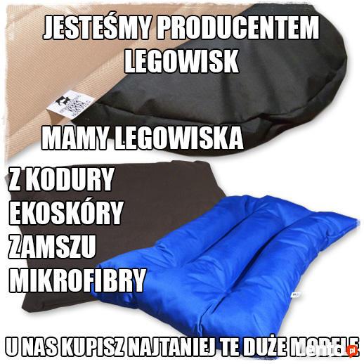 effce89d6d4857 Pączek Legowisko Dla Psa Eko-Skóra nowe legowisko dla psa Lublin