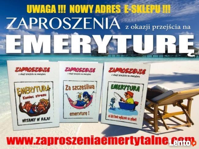 Zaproszenia Emerytura Na Spotkanie Emerytalne Bydgoszcz