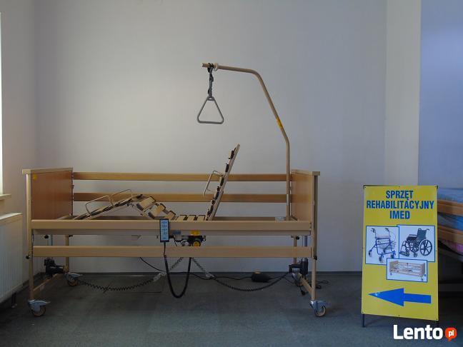 łóżko Rehabilitacyjne Elektryczne Wynajem Z Materacem Pianko