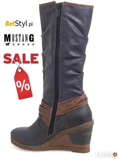 eca5cdedcda64 Nowe oryginalne kozaki Mustang Shoes 39C075 - NetStyl.pl Koszalin