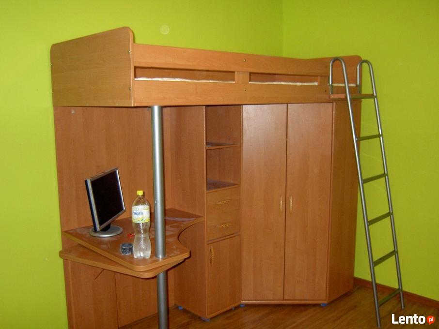 łóżko Piętrowe Biurkoszafa M85 Materac Rzeszów