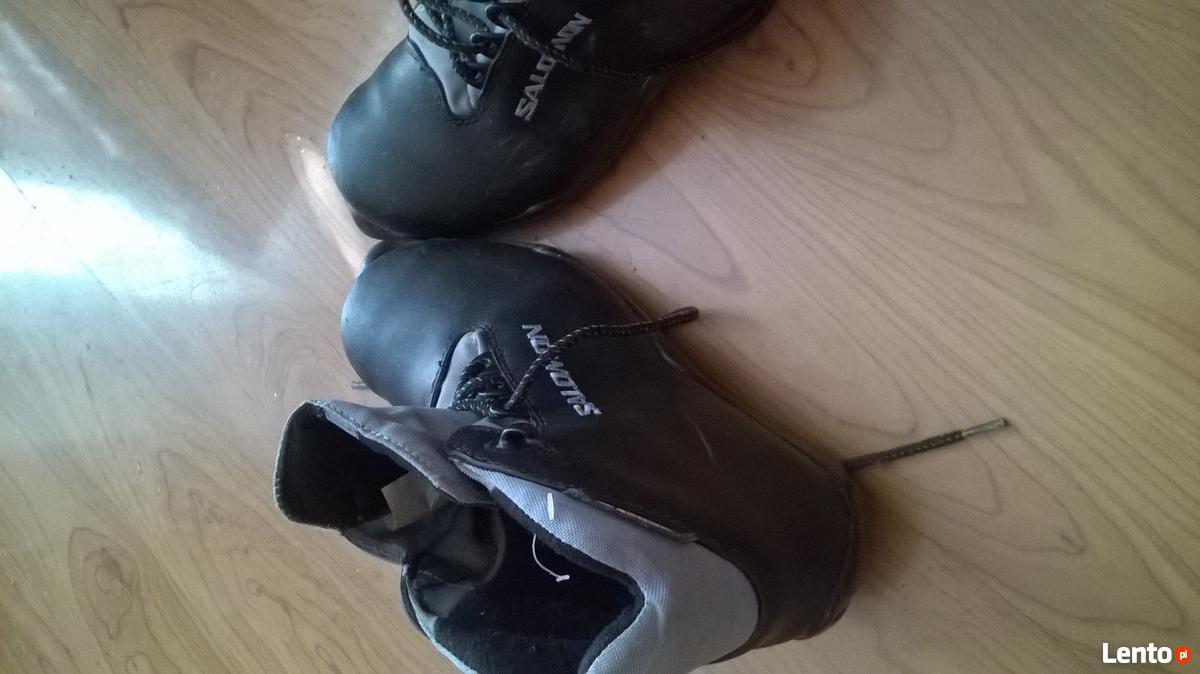 Buty do nart biegowych SALOMON (profil SNS, nr 37) Bydgoszcz