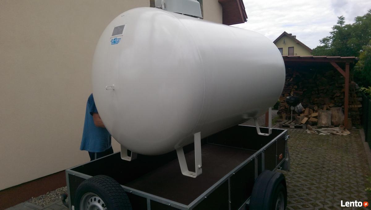 Cudowna Zbiornik na gaz propan 2700 litrow Wrocław DI33