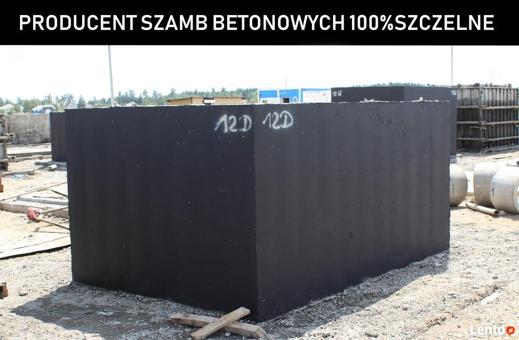 Poważne SZambo betonowe szamba zbiorniki na deszczówkę 4-12m3 Kalisz YR49