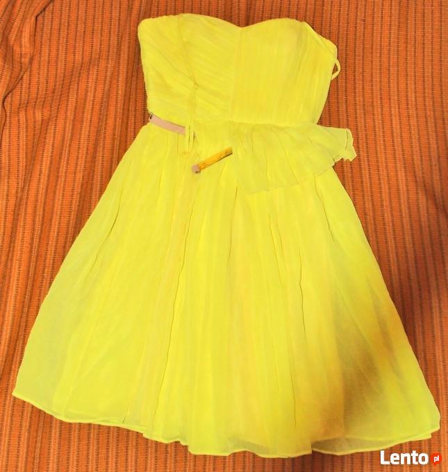dc76a383ef ... 4 Żółta sukienka Wesele roz S 36 Mango tjulowa Wys 10zł - 5 ...