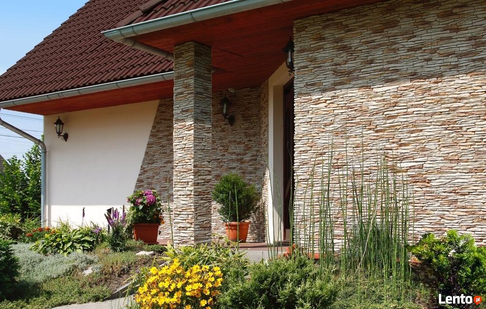 P ytki ceg y kamie elewacyjny zewn trzny oraz na ciany for Deco stone design for house