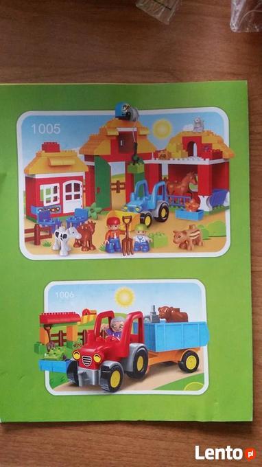 Archiwalne Sprzedam Klocki Kompatybilne Z Lego Duplo Duży Zestaw