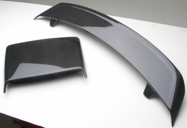 Części samochodowe z carbonu - włókna węglowego, laminatu
