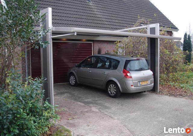 Wiata garażowa Aluminiowa MyPort 5,0x2,7,Carport,Wiata