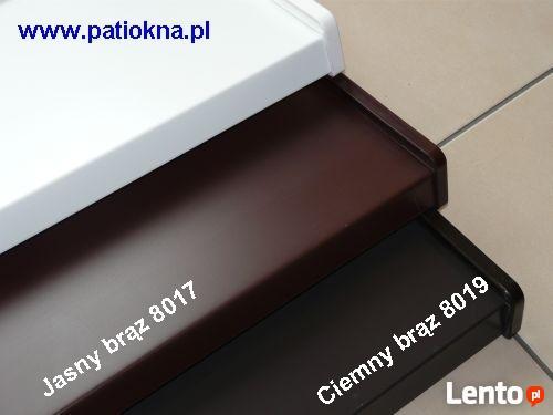 Parapety zewnętrzne Aluminium PATI okna