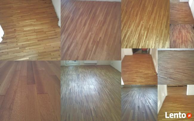 Podłogi drewniane cyklinowanie montaż