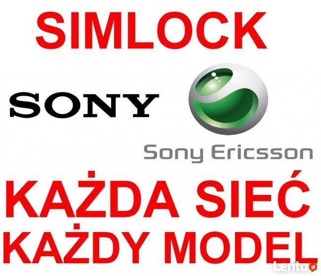 Simlock Sony-Ericsson XPERIA Sony WSZYSTKIE MODELE Warszawa