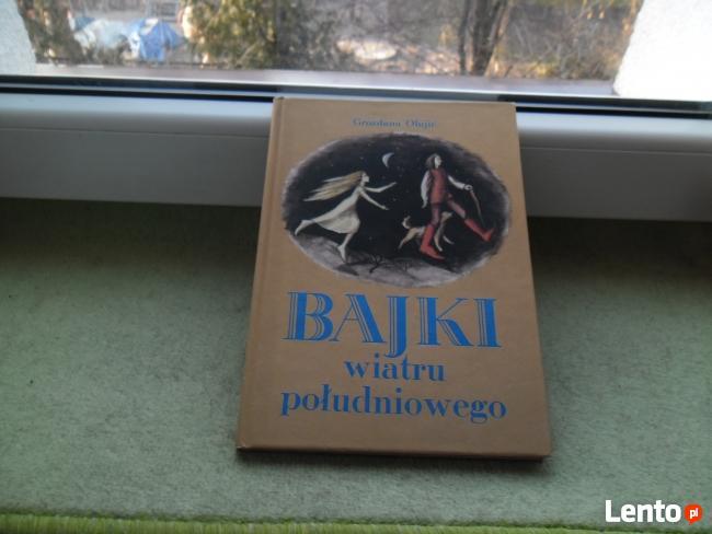BAJKI WIATRU POŁUDNIOWEGO autor: Grozdana Olujić