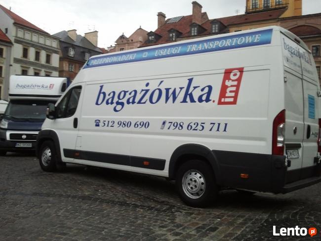 Przeprowadzki Warszawa,512980690,Bagażówka,Magazynowanie